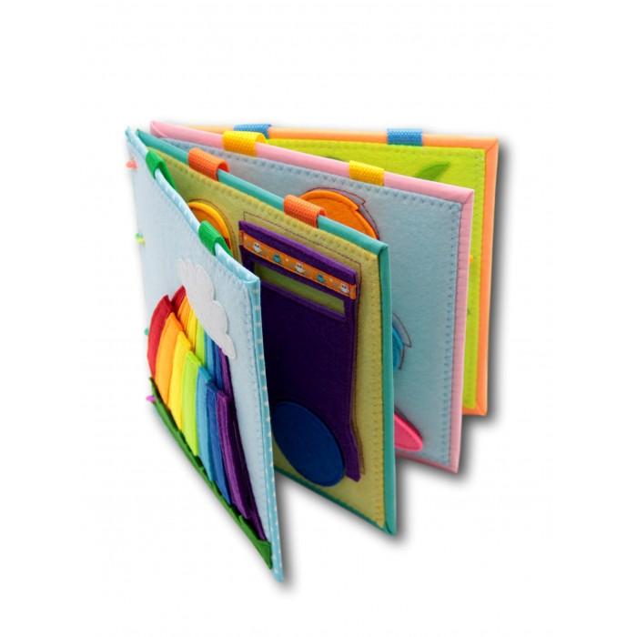 Картинка для Санта Лючия Учимся, играя Развивающая книжка из фетра