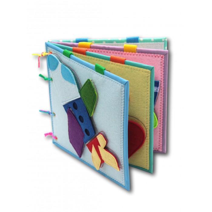Картинка для Санта Лючия Учимся, играя Развивающая книжка из фетра №2