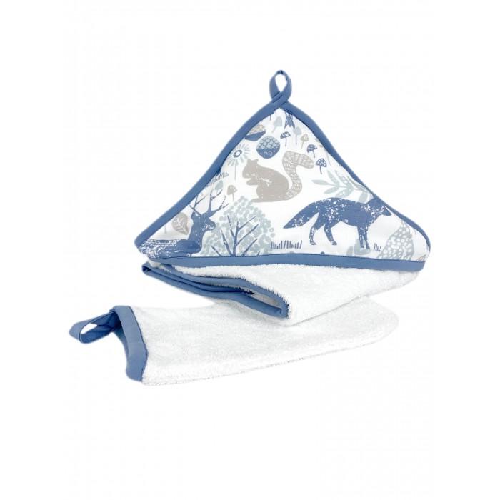 Mom'Story Design Комплект для купания новорожденных Ванильные Розы 2 предмета
