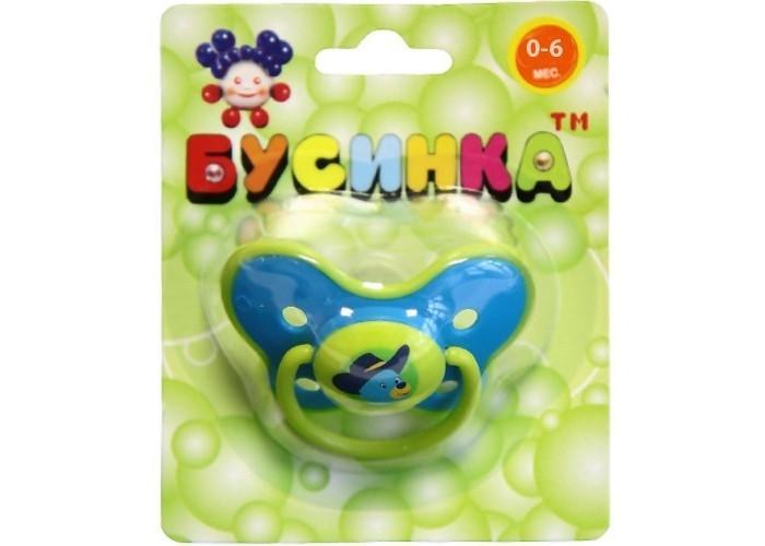Пустышки Бусинка Бабочка соска симметричная, силикон 0-6 мес. bibi happiness natural силикон голубая 0 2 мес