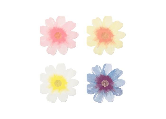 MeriMeri Салфетки Цветочный сад