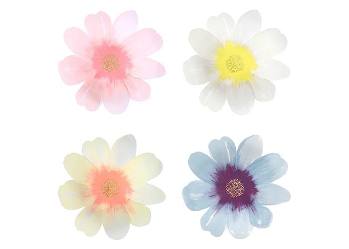 MeriMeri Тарелки большие Цветочный сад