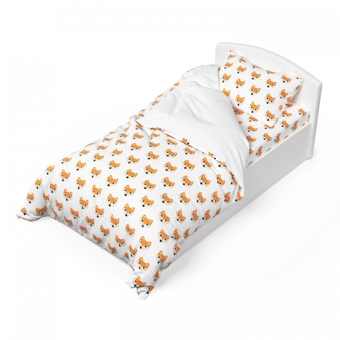 Постельное белье 1.5-спальное Капризун Лисички (3 предмета) одеяла капризун и подушка