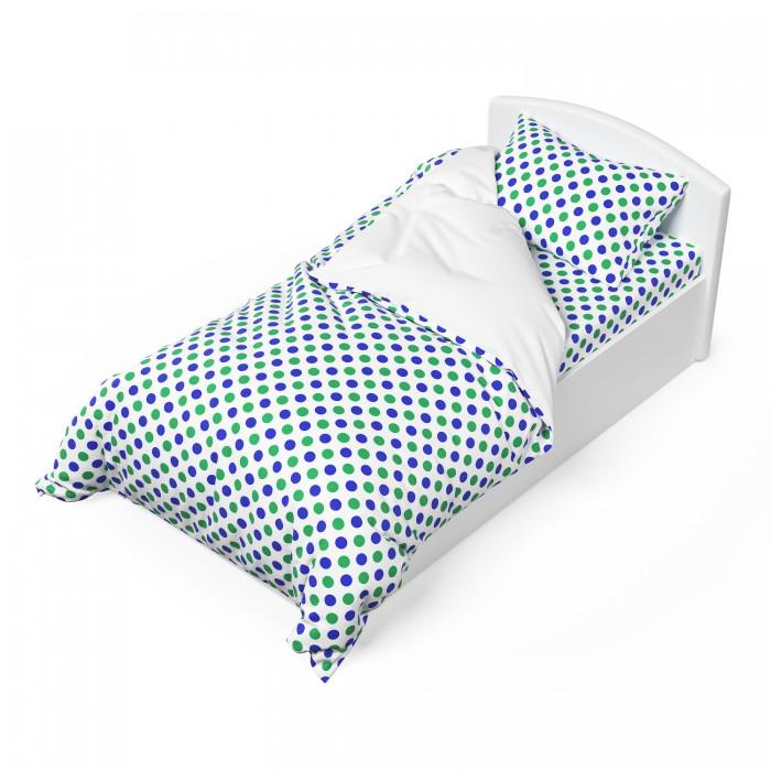 Постельное белье 1.5-спальное Капризун Голубое озеро (3 предмета) постельное белье томдом кося голубое с покрывалом