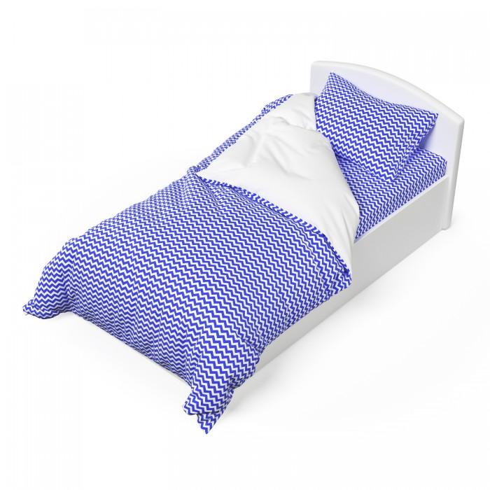 Постельное белье 1.5-спальное Капризун Морская волна (3 предмета)