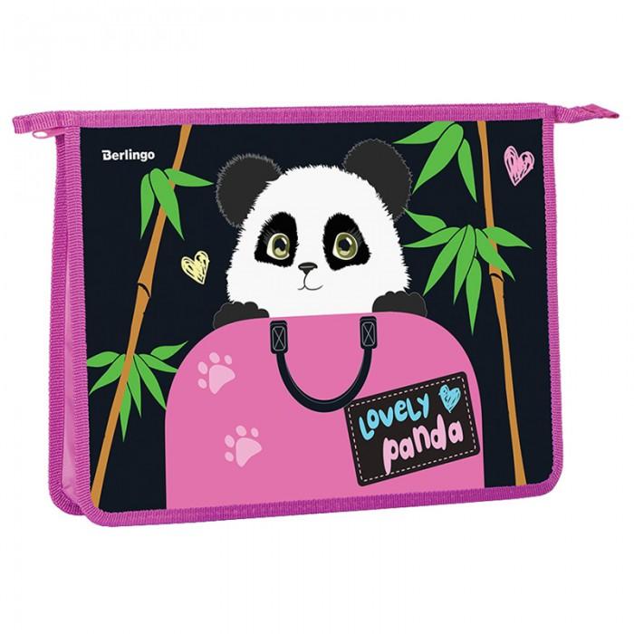Канцелярия Berlingo Папка для тетрадей Lovely panda А4