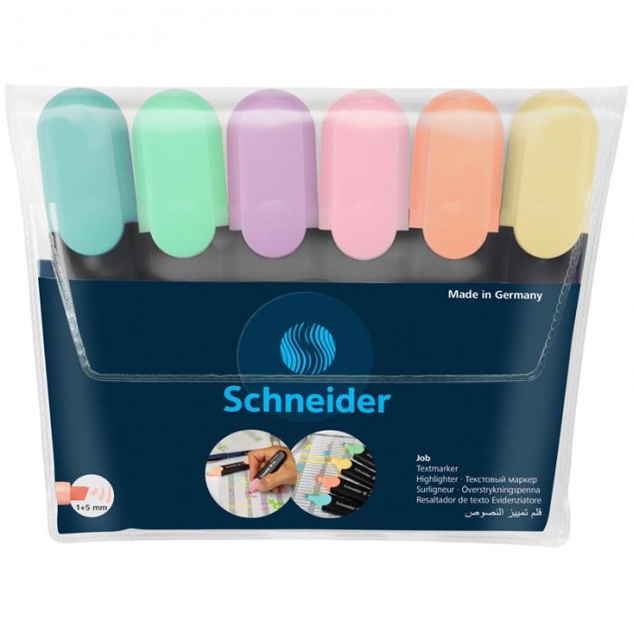 Картинка для Канцелярия Schneider Набор текстовыделителей Job 6 цветов 1-5 мм