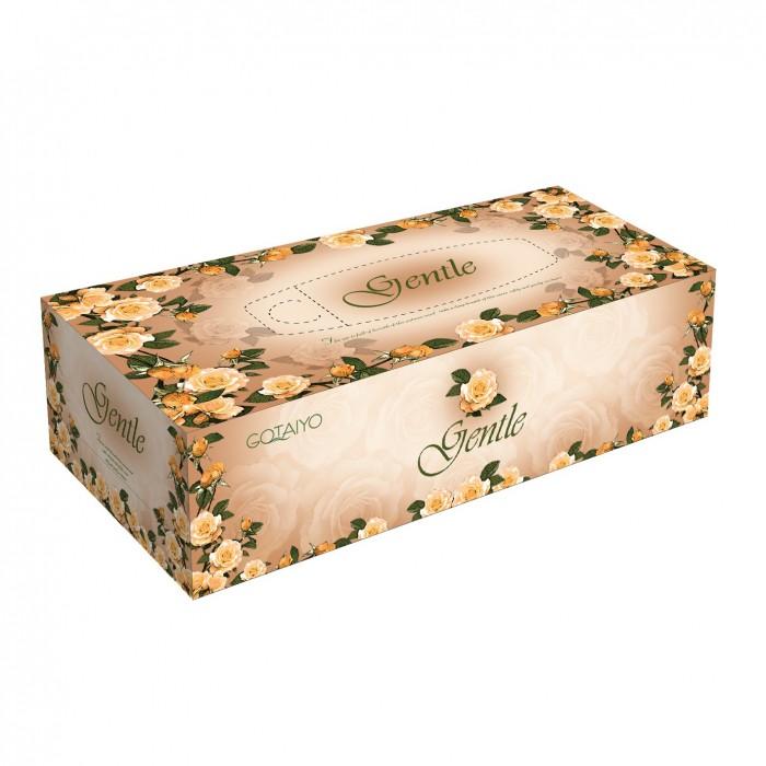 Салфетки Gotaiyo Gentle Двухслойные салфетки c ароматом Европы 200 шт.