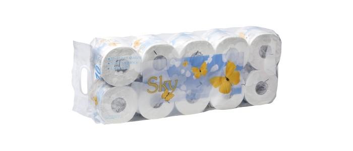 Хозяйственные товары Gotaiyo Sky Трехслойная туалетная бумага с ароматом ментола 10 рулонов цена 2017