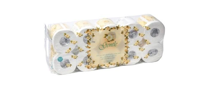 Хозяйственные товары Gotaiyo Gentle Трехслойная бумага с ароматом Европы 10 рулонов цена 2017