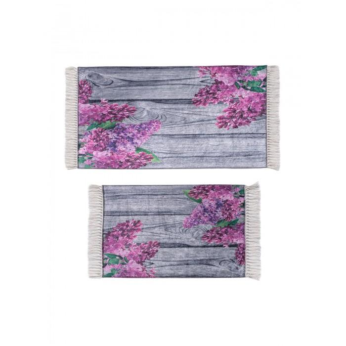 Аксессуары для ванн Asil Home Набор ковриков для ванной и туалета 2 шт. набор ковриков для ванной modalin yana 2 предмета мятный