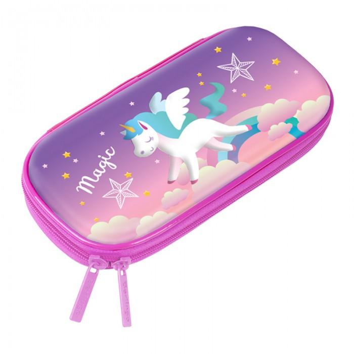 Пеналы Berlingo Пенал с 3Д изображением Unicorn