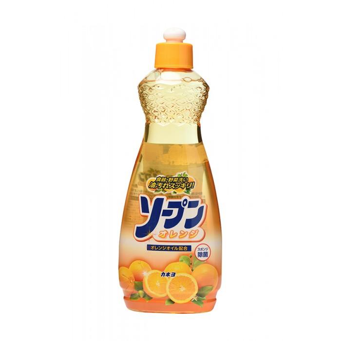 Бытовая химия Kaneyo Жидкость для мытья посуды сладкий апельсин 600 мл fm трансмиттер ritmix fmt a720 красный