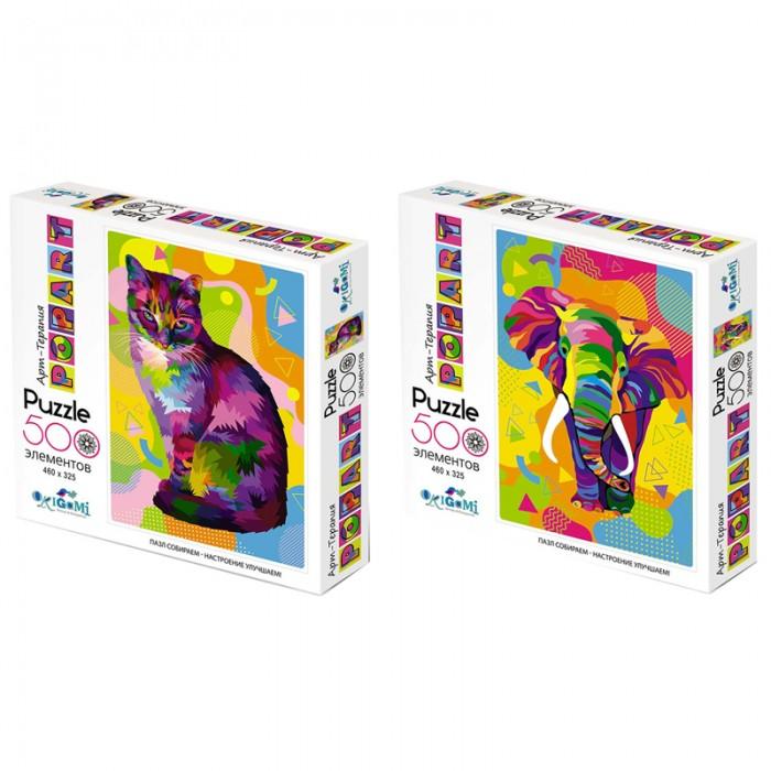 Пазлы Origami Пазл Арт-терапия Popart (500 элементов) пазл 500 элементов monster high странные и шикарные 30119