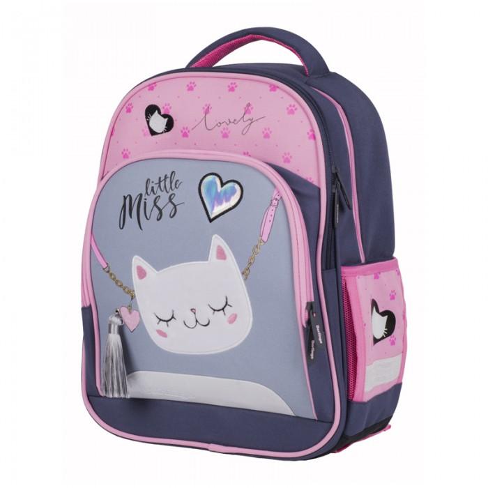 Berlingo Ранец облегченный Flash Cat-purse
