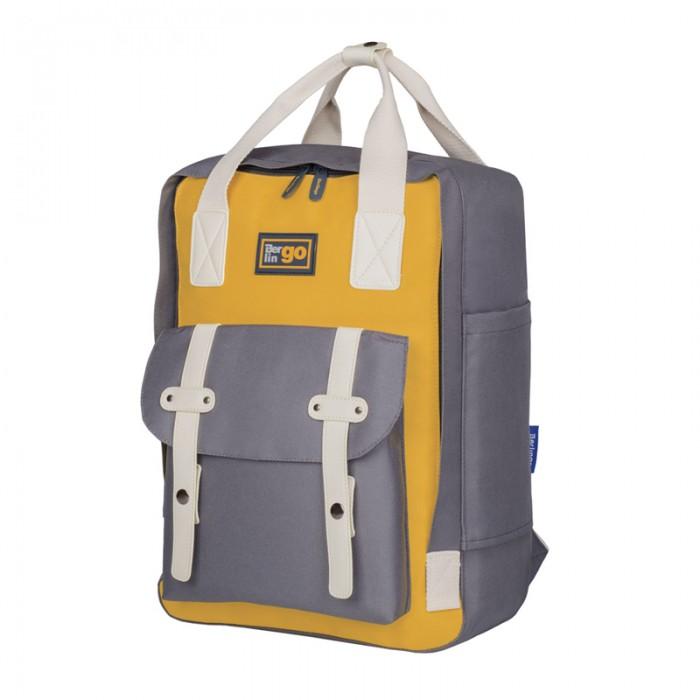 Фото - Школьные рюкзаки Berlingo Рюкзак Casual Mustard школьные рюкзаки berlingo рюкзак nice paris