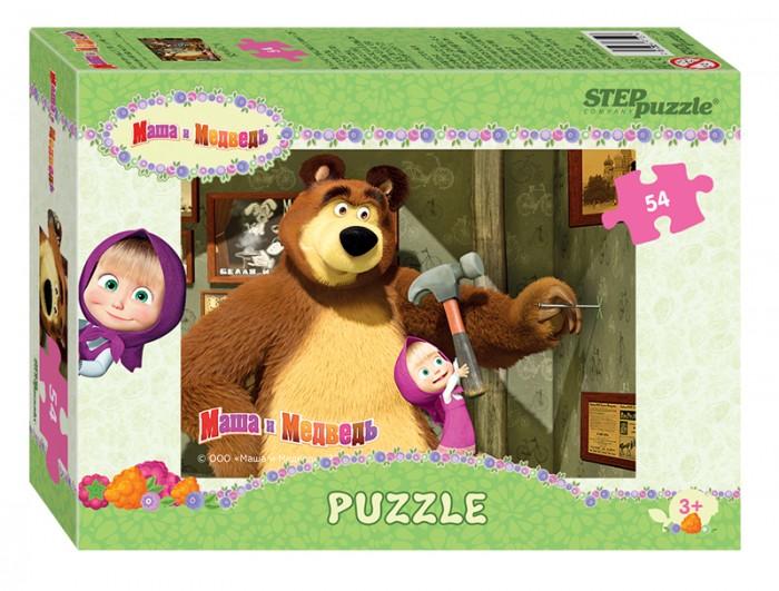 Пазлы Step Puzzle Пазл Маша и Медведь 54 детали в ассортименте конфитрейд маша и медведь печенье грибочки с подарочком 42 г