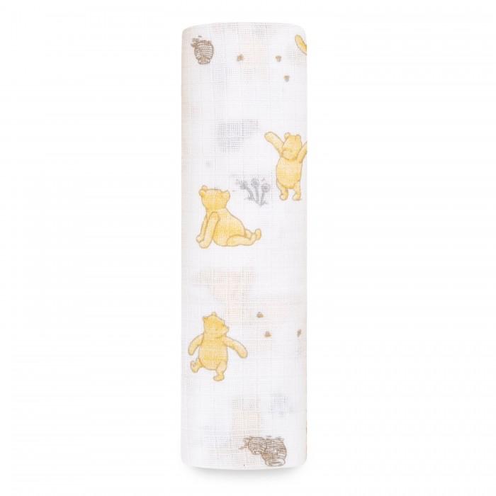 Пеленка Aden&Anais муслиновая Winnie+friends Essentials 112х112 см