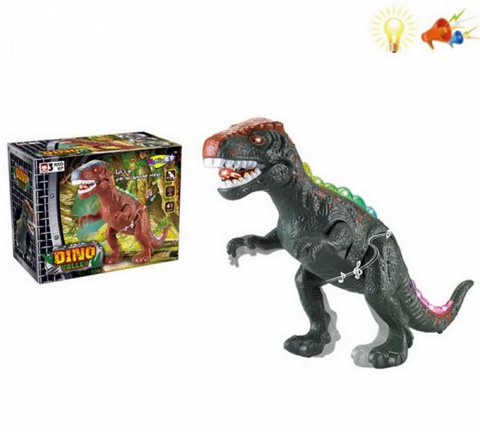 ХэппиЛенд Игрушка Динозавр со световыми и звуковыми эффектами 200482059