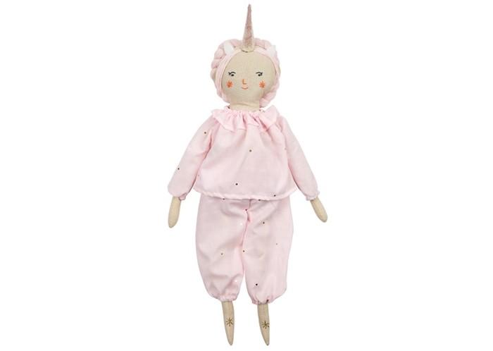Фото - Куклы и одежда для кукол MeriMeri Костюм для куклы Единорог куклы и одежда для кукол miraculous кукла леди баг костюм рисунок 26 см