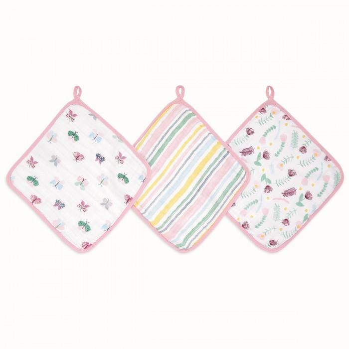 Полотенца AdenAnais Набор полотенец для лица и рук Floral fauna 3 шт.