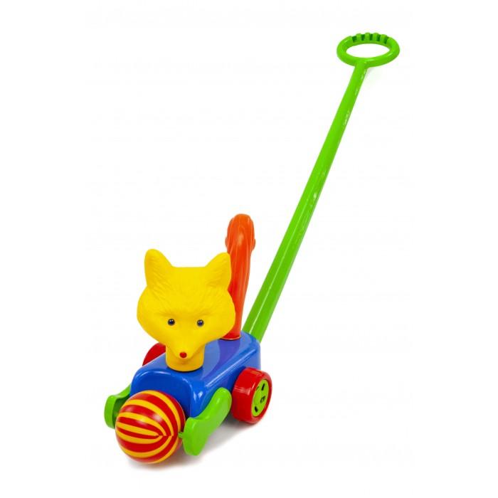 Каталка-игрушка POLtoys Собака с мячиком