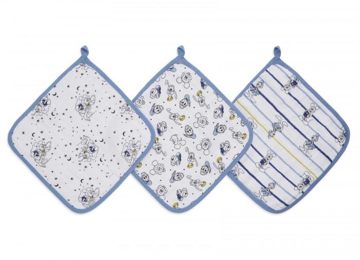 Aden&Anais Набор полотенец для лица и рук Mickey stargazer Essentials 3 шт.