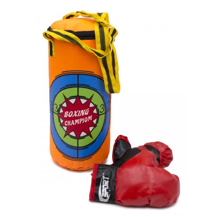 цена на Спортивный инвентарь ХэппиЛенд Набор для бокса детский (груша + 2 перчатки) 200319199
