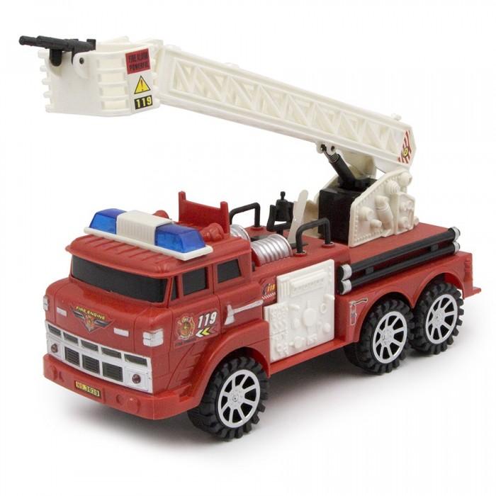 пожарная машина shantou gepai машина пожарная парковка красный b1695688 Машины ХэппиЛенд Машина инерционная Пожарная 100651455