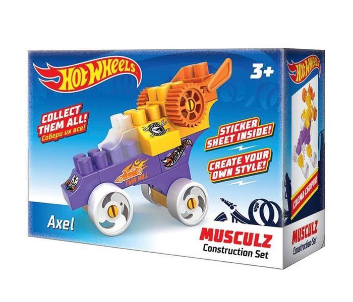 Конструкторы Hot Wheels Musculz Axel лев раскраска с наклейками 2005 hot wheels
