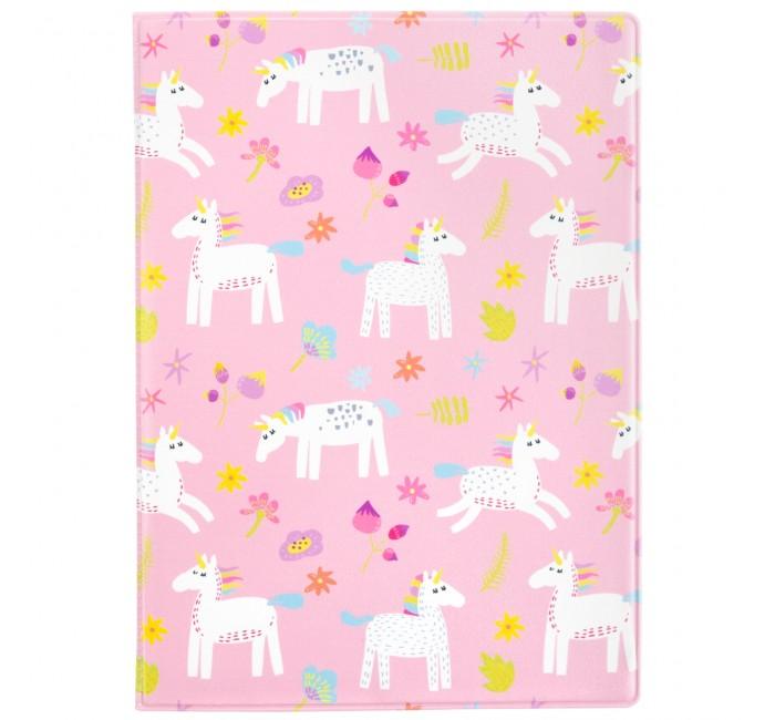 обложка для паспорта printio влюбленные фламинго Канцелярия Kawaii Factory Обложка для паспорта Розовый фламинго