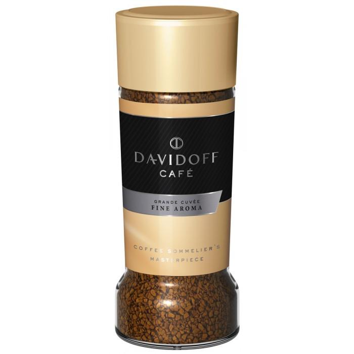 Кофе Davidoff Кофе Fine растворимый 100 г clipper кофе растворимый арабика органик сублимированный 100 г