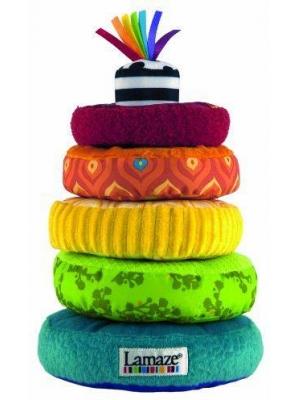 Развивающие игрушки Lamaze Мягкая пирамида краснокамская игрушка развивающая пирамидка радуга