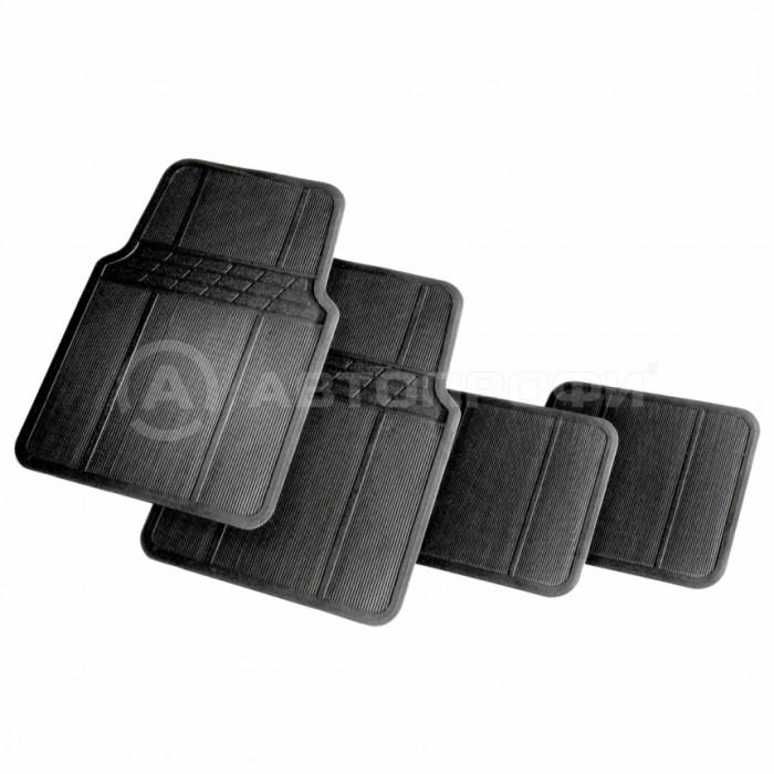 Аксессуары для автомобиля Autoprofi Коврики автомобильные MAT601 (4 предмета)