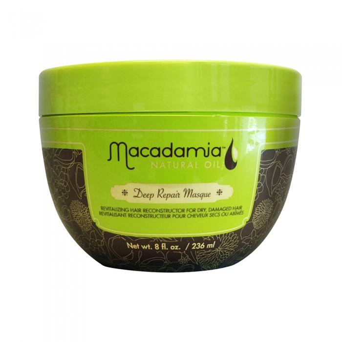 Купить Косметика для мамы, Macadamia Natural Oil Маска восстанавливающая интенсивного действия с маслом арганы и макадамии 236 мл