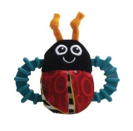Погремушки Lamaze Игрушка Жучок lamaze lamaze развивающая игрушка tomy жучок на цветочке