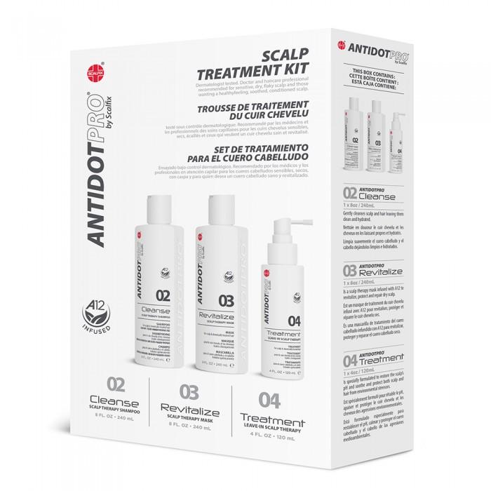 Косметика для мамы AntidotPro Набор Комплексный уход для чувствительной кожи головы