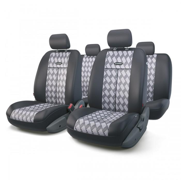 Аксессуары для автомобиля Autoprofi Автомобильные чехлы TT Airbag TT-902J (9 предметов)