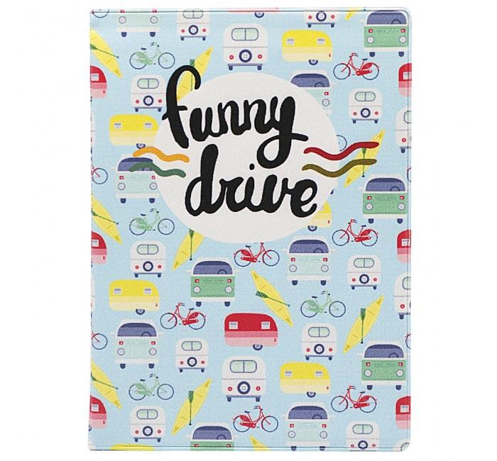 Канцелярия Kawaii Factory Обложка на автодокументы Funny drive