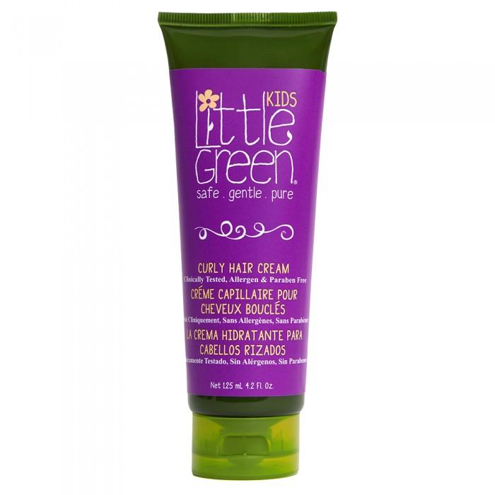 Детская косметика Little Green Крем несмываемый для кудрявых волос