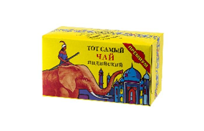 Чай Тот Самый Чай черный Премиум высший сорт 100 г азерчай чай черный азерчай с бергамотом 100 г