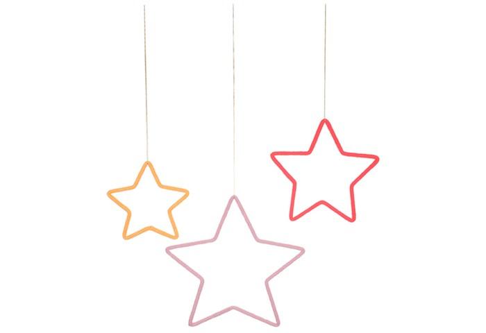 Товары для праздника MeriMeri Украшение на стену из проволоки Звезды