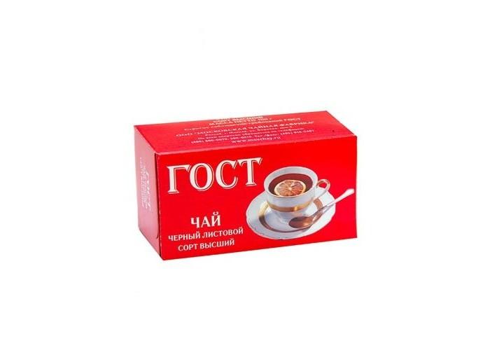 Чай Тот Самый Чай черный ГОСТ высший сорт 100 г чай черный виноградное утро