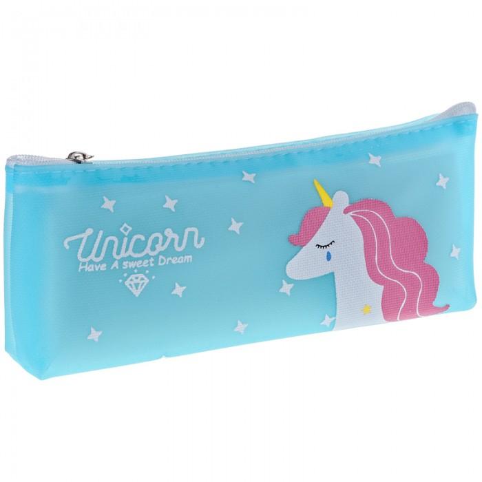 Пеналы Спейс Пенал мягкий 1 отделение ArtSpace Dream unicorn 18x7x3.5 см