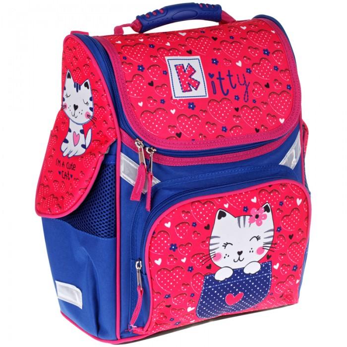 Купить Школьные рюкзаки, Спейс Ранец 1 отделение 3 кармана ArtSpace Junior Kitty 37x28x21 см