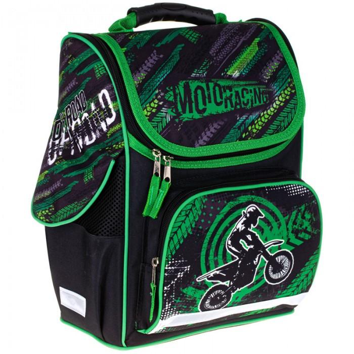 Купить Школьные рюкзаки, Спейс Ранец 1 отделение 3 кармана ArtSpace Junior Moto 37x28x21 см