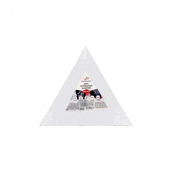 vista artista холст грунтованный cpg 4050 Принадлежности для рисования Vista-Artista Холст грунтованный на картоне треугольный 20х17.3 см VCPT-20