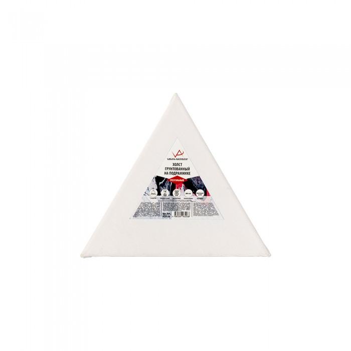 vista artista холст грунтованный cpg 4050 Принадлежности для рисования Vista-Artista Холст грунтованный на подрамнике треугольный VCST-20 20х17.3 см