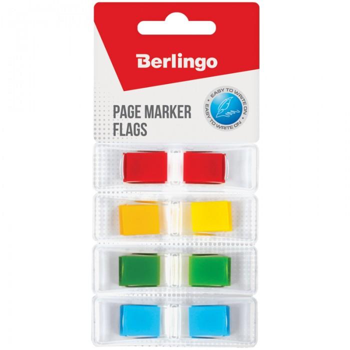 Канцелярия Berlingo Флажки-закладки 4 неоновых цвета 35 л