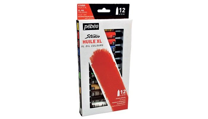 Купить Pebeo Краски масляные набор XL 12 цветов по 12 мл